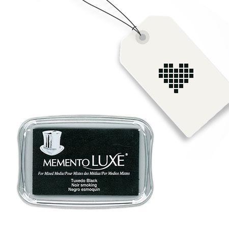 Encreur Memento Luxe - Tuxedo Black