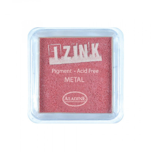Encreur Izink - Metal - Red