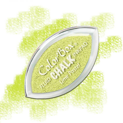 Cat's eye chalk - Lime pastel