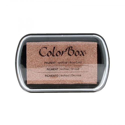 Encreur rose or Colorbox Metallic Rose Gold