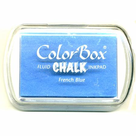 Encreur chalk - French blue