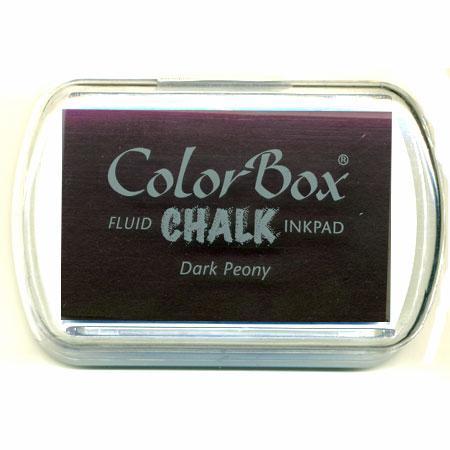 Encreur colorbox chalk - Dark peony