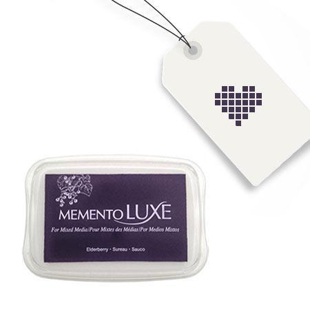 Encreur Memento Luxe - Elderberry