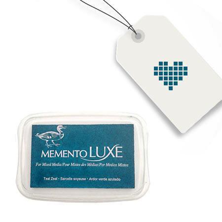 Encreur Memento Luxe - Teal Zeal