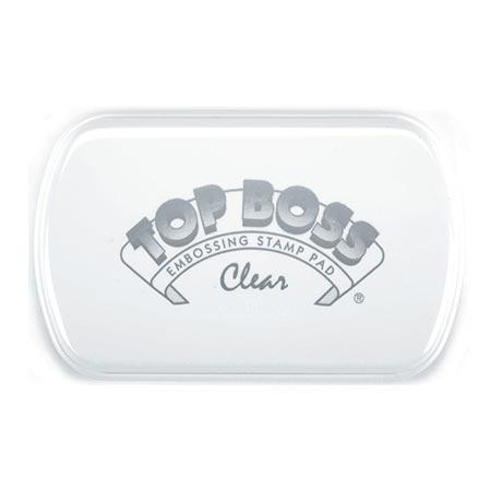 Encreur Top Boss - transparent - 8 x 5 cm