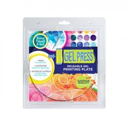 Gel Press - Plaques Gelly Plate