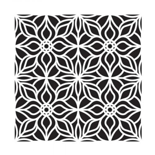 Pochoir - Décoration fantaisie - 30 x 30 cm