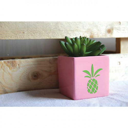 Pochoir Ananas - 8 x 8 cm