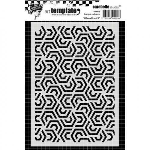 Pochoir - Géométrie #3 - A6