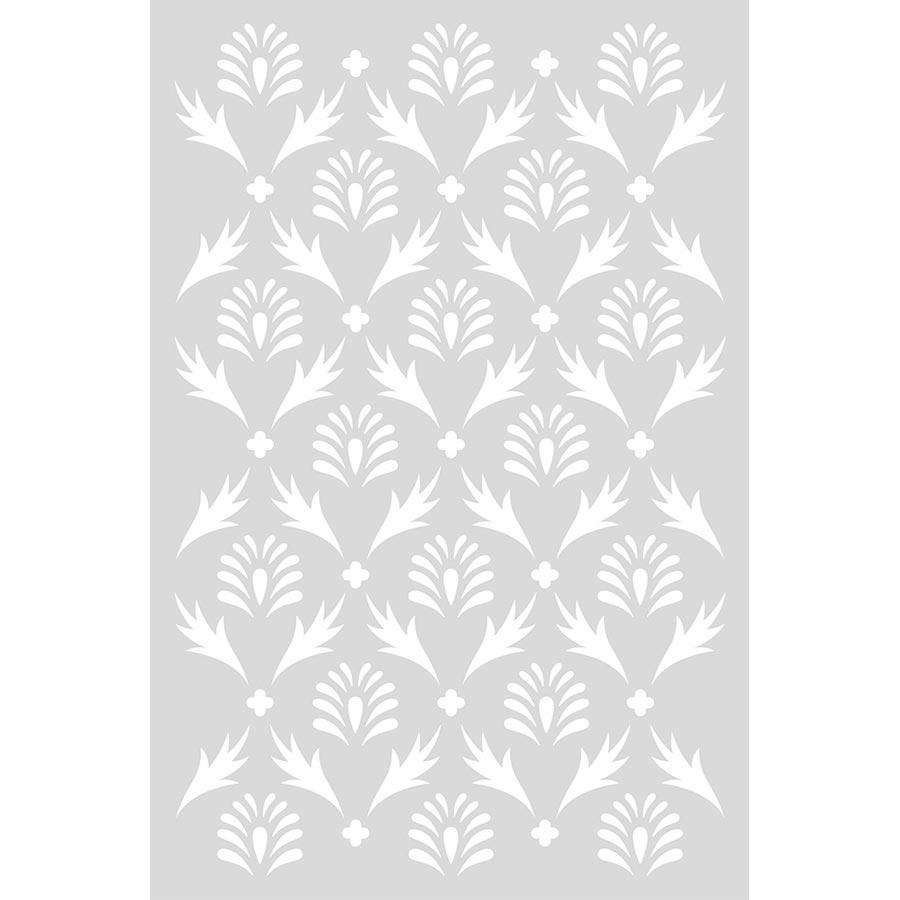 Pochoir Secret Garden motif Plante - 10 x 15 cm