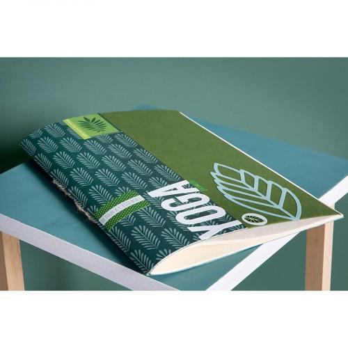 Pochoir Deep Green motif Fond Feuilles - 10 x 15 cm