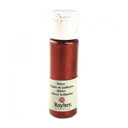 Poudre de paillettes - Rouge clair - 20 ml
