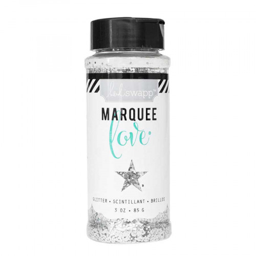 Chunky Glitter - Paillettes - argent - 85 g
