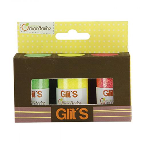 Paillettes Glit's - 3 x14 g
