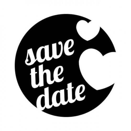 Tampon NIO - Save the Date (cœurs)