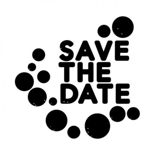Tampon NIO - Save the Date (pois)