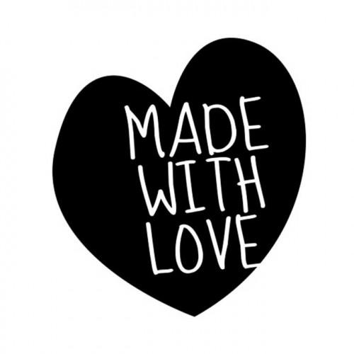 Tampon NIO - Made with Love (cœur)