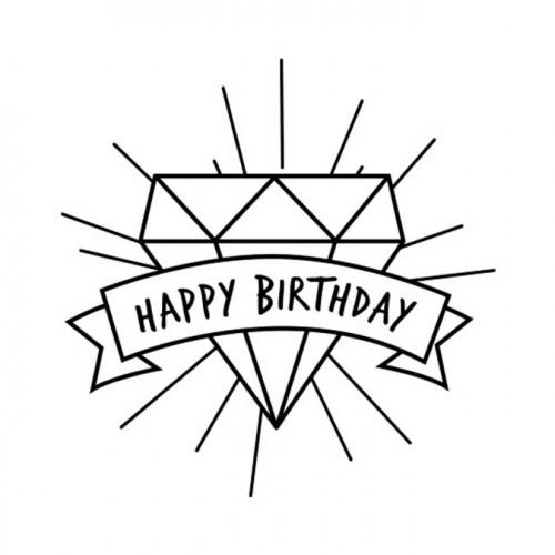 Tampon NIO - Happy Birthday
