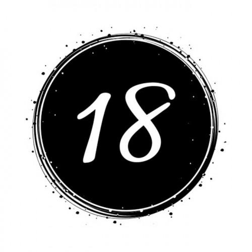 Tampon NIO - 18 (badge)