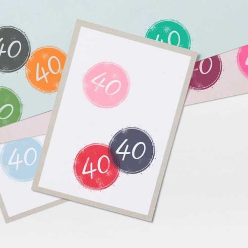Tampon NIO - 40 (badge)
