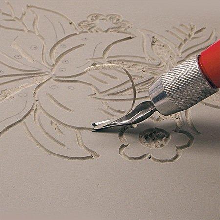 Plaque de Linoleum 20 x 30 cm x 3,2 mm