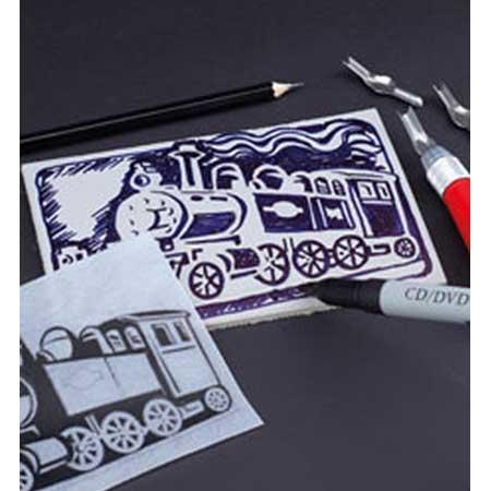 Set de 7 gouges pour Linogravure