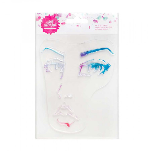 Tampons clear Visage - 10,5 x 12 cm