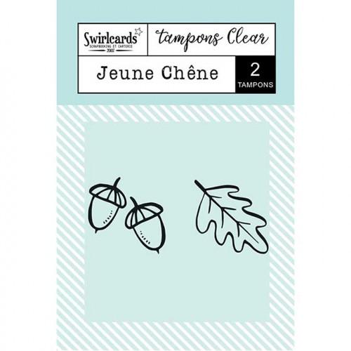 Tampons Clear - Jeune chêne - 2 pcs