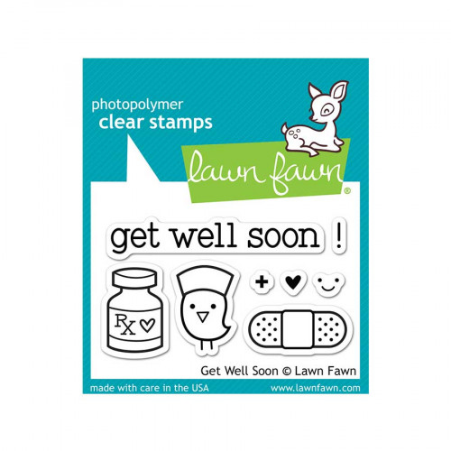 Tampons Clear - Get well soon