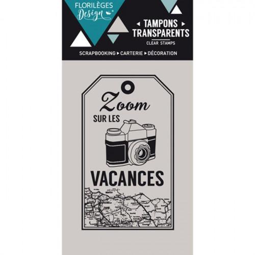 Capsule Juillet 2016 - Tampon Clear - Zoom Vacances