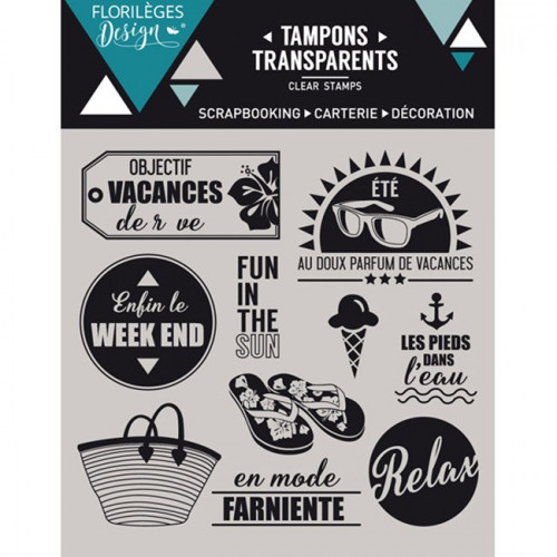 Capsule Juillet 2016 - Tampons Clear - Objectif Vacances