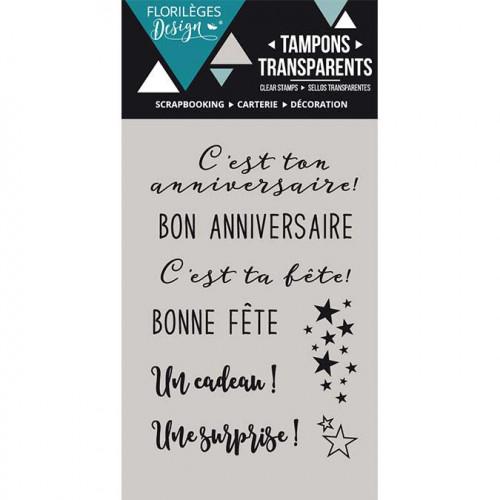 Capsule Octobre 2016 - Tampons Clear - Bon anniversaire