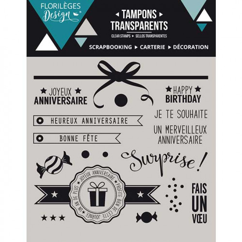 Capsule Octobre 2016 - Tampons Clear - Surprise !