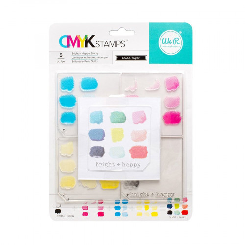 CMYK - Kit tampons Bright and Happy