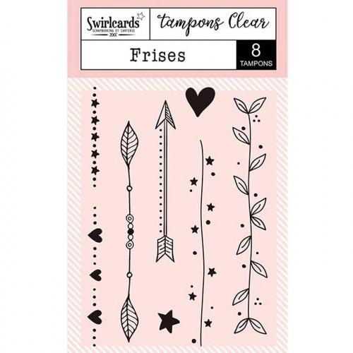 Tampons Clear - Frises - 8 pcs