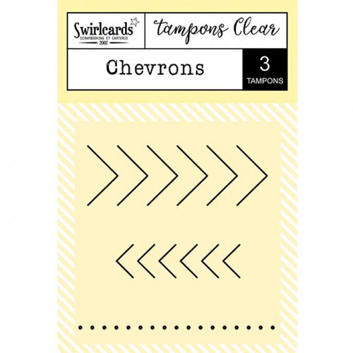 Tampons Clear - Chevrons - 3 pcs