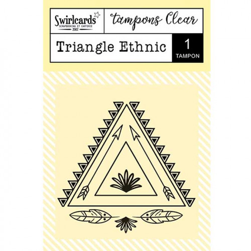 Tampon Clear - Triangle ethnic