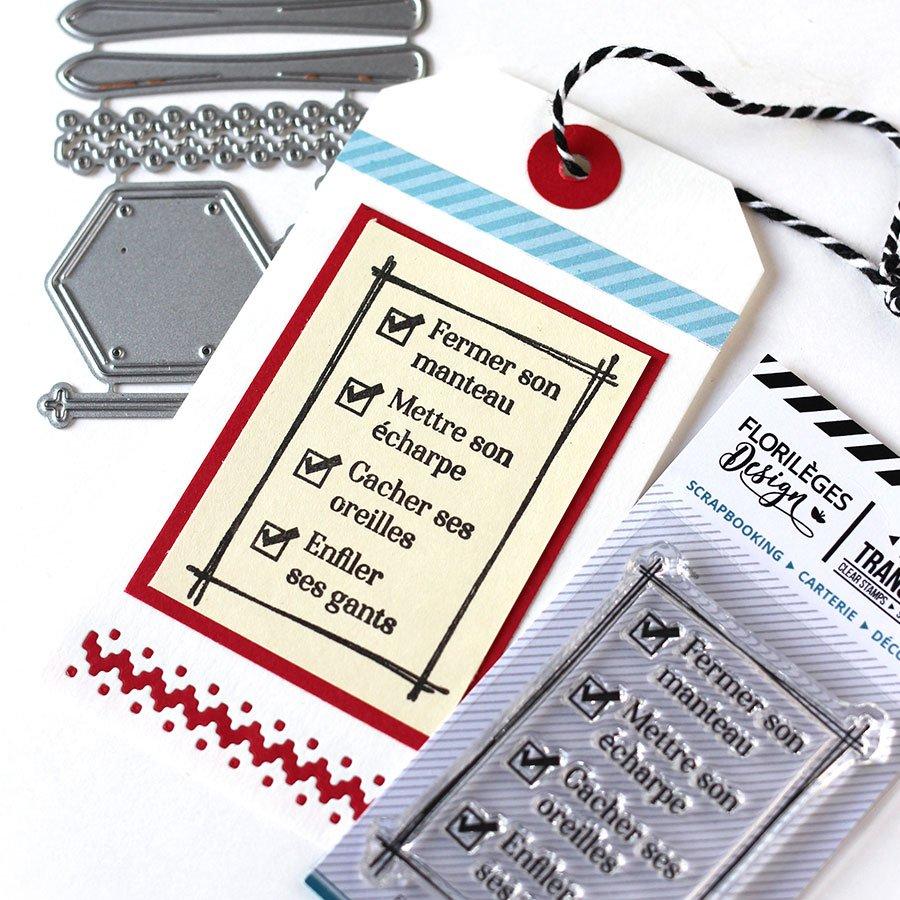 Tampon transparent To Do List