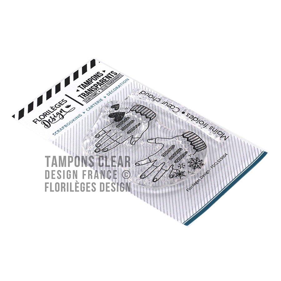 Set de 2 tampons transparents Mains froides