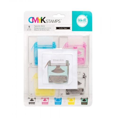 CMYK - Kit tampons Typewriter