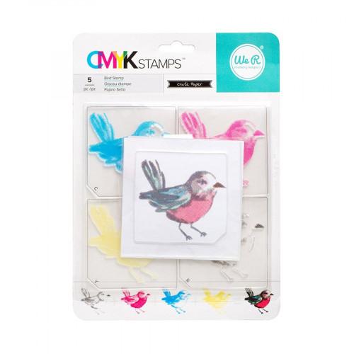 CMYK - Kit tampons Oiseau