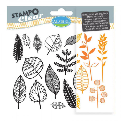 Stampo Clear - Set de 16 Tampons - Feuilles