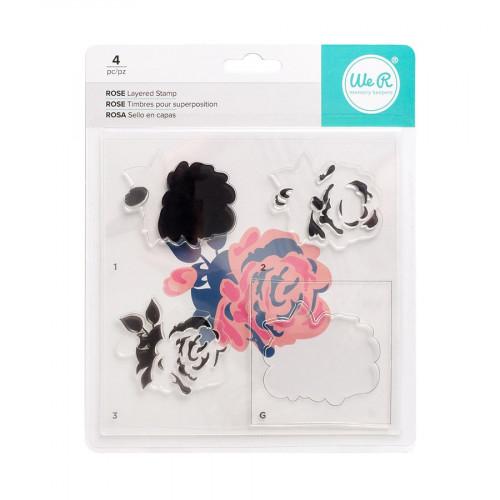 CMYK - Kit tampons Rose