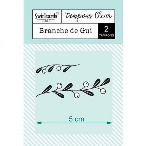 Tampons Clear - Branche de gui - 2 pcs