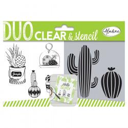 Duo Clear & Stencil