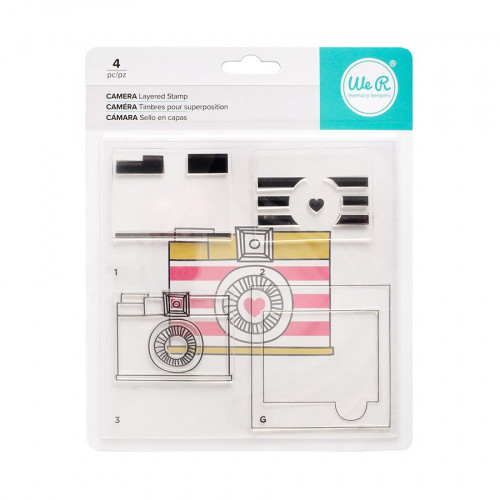 CMYK - Kit tampons Caméra