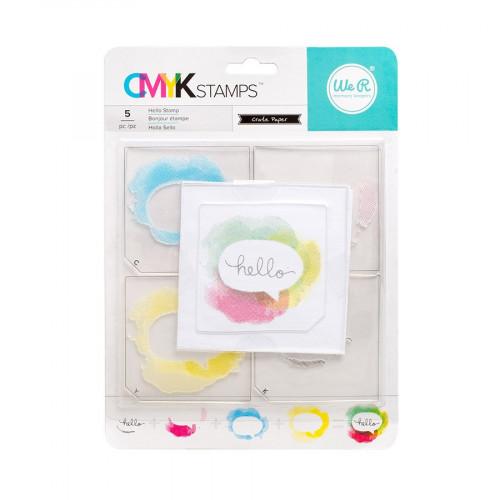 CMYK - Kit tampons Hello