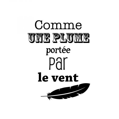 Tampon Clear - Totem - Comme une plume