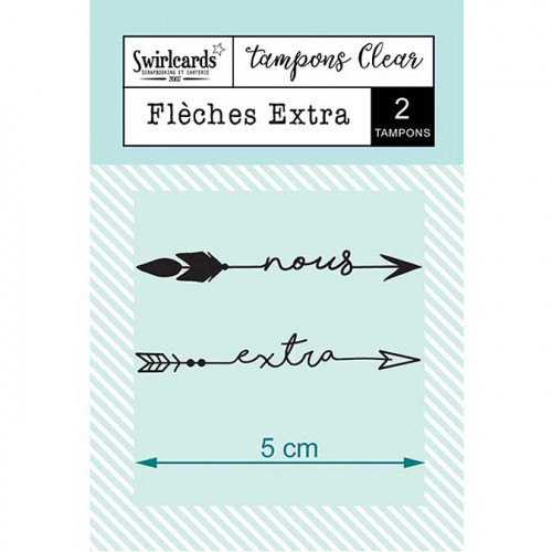 Tampons Clear - Flèches extra - 2 pcs