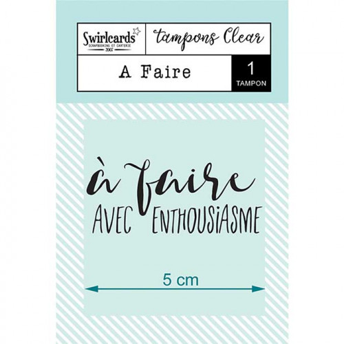 Tampon Clear - A faire